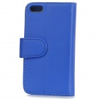 Protective PU Leather Case w/ Stylus for iPHONE 5 / 5s - Blue