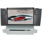 "LsqSTAR 7"" Car DVD Player w/ GPS,RDS,AUX,SWC,Radio,6CDC,TV,MP5,BT phonebook,Can Bus for Citroen C4L"