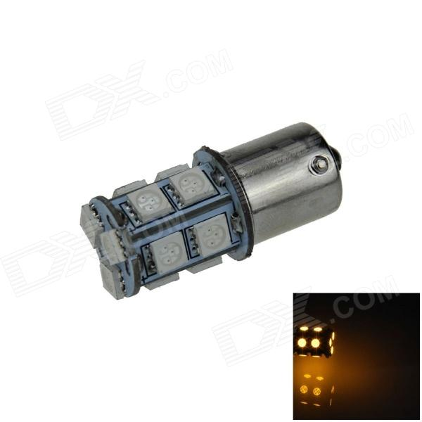 1156 / BA15S 3W 200lm 13 x LED SMD 5050 Yellow Car Signal Luz / Direção / Lamp Backup - (12V)