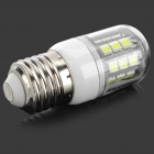 FengYang E27 5W 150lm 6500K 27-SMD 5050 LED ampoule blanche (AC 220V)