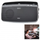 B3506 Rechargeable 2.4GHz Bluetooth V4.0 Handsfree Car Speaker Kit - Black