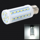 E27 8W 1260lm 6500K 42 x SMD 5630 LED White Light Lamp - White + Silver Grey (AC 220V)