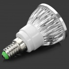 ZHISHUNJIA E14 4W 300lm 4-SMD 6063 LED legal Bulb Branco (AC 85 ~ 265V)