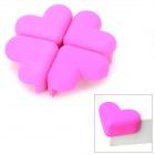 Heart-Shape Soft Silicone Desk Guard Bumper Against Collision - Pink (4 PCS)