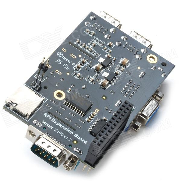 Expansion board made case gpio connection wire pin data