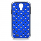 Cool Protective ABS Back Case for Samsung Galaxy S4 i9500 - Blue
