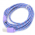 USB Male to Micro USB Male Knitted Housing Data Sync & Charging Cable for Amazon Kindle Series