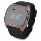 "M18 1.0"" LCD Fashionable Anti-lost Bluetooth V2.1 Hands-free Watch w/ Audio for IPHONE + More -Black"