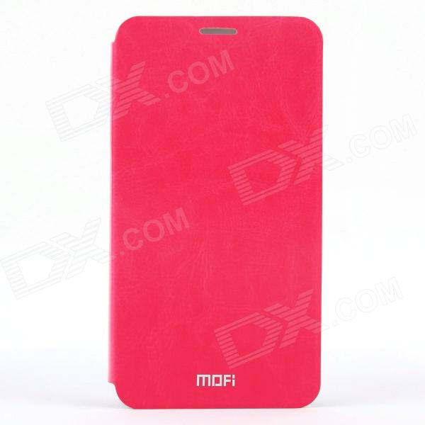 купить MOFI PR-3-003 Protective PU Leather Case Cover w/ Stand for Samsung Galaxy Note 3 - Red недорого
