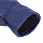 Santo LXG-63 Outdoor Sports Cycling / Mountaineering Cycling Non-Slip Gloves - Blue (Size-L)