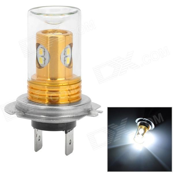 HJ HJ-23-H7-10W H10 10W 450~500lm 6000K 8-2323 SMD LED White Light Car Lamp (10~30V) hj h16 8w 600lm 6500k 8 smd 2323 led white steering reversing lamp for car 12 24v 2pcs