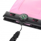 "IPX8 Protective Waterproof Bag w/ Compass for 5.5"" Cell Phone - Pink"