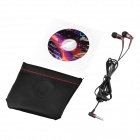 JBM MJ6600 In-Ear Earphones w/ Microphone for Tablet PC, Cellphone, MP3 + More - Coffee (3.5mm Plug)