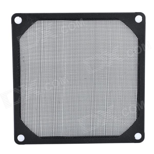 9 centimetri in alluminio Computer antipolvere Fan Filter - Nero