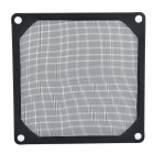 9cm Aluminum Computer Dustproof Fan Filter - Black
