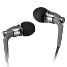 JBM MJ6600 In-Ear Earphones w/ Microphone for Tablet PC, Cellphone, MP3+More - Celadon (3.5mm Plug)