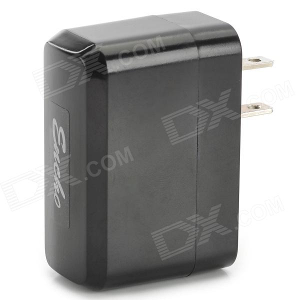 AC Charging Adapter Charger w/ USB Output for Tablet PCs - Black (US Plug)