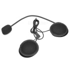 V2-500C Bluetooth V3.0 Motorcycle Helmet Interphone Set - Black