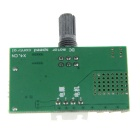 DC Motor PWM Stepless Speed Change Speed Controller - Green (DC 12~35V)