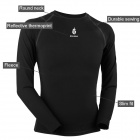 WOLFBIKE BC215 Outdoor Cycling Men's Long Sleeve Bicycle Jersey Clothes (L)