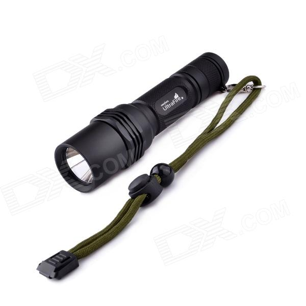 UltraFire M10 Cree XP-G2 R5 4-Mode 460lm HA-III IPX-8 Flashlight - Black (1 x 18650 / 2 x CR123A)