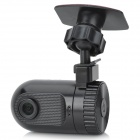 "1.5"" TFT 1080p 5.0 MP CMOS 120 Degree Wide Angle Car DVR - Black"