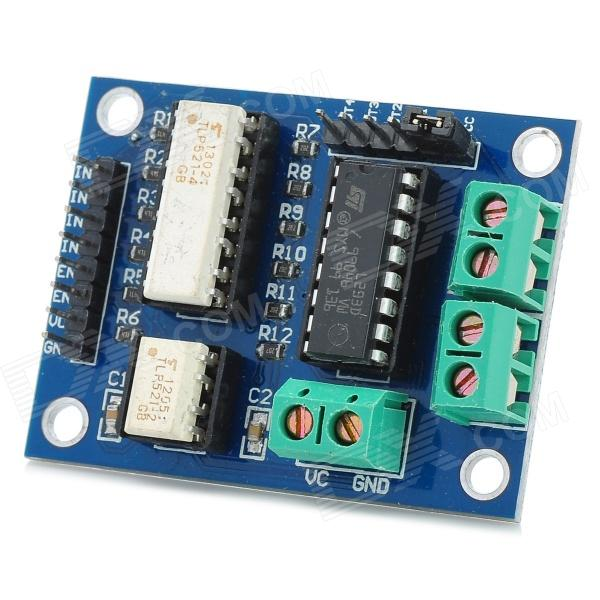 L293 Optoelectronic Isolation Motor Drive Module - Deep Blue