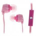 GJBY Gj-1809 Stylish Stereo Bass In-Ear Earphones for Cell Phone / IPHONE - Pink (3.5mm Plug)