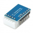 Mini ULN2003 Five Line Four Phase Stepper Motor Driver Module - Deep Blue