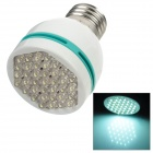 E27 2W White Light 37-LED Energy Saving Cup Bulb (100~260V AC)