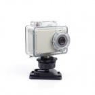 ESER AT81 5.0 MP HD Wide Angel 130-Degree Micro Waterproof Sport Camera w/ 4 x IR LED - Grey
