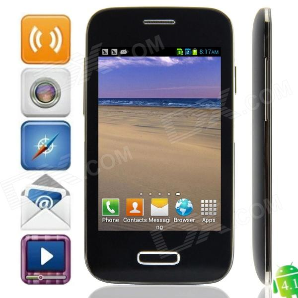 M-H0RSE 9500mini-W(E08) SC6820 Android 4.1.2 GSM Bar Phone w/ 3.5
