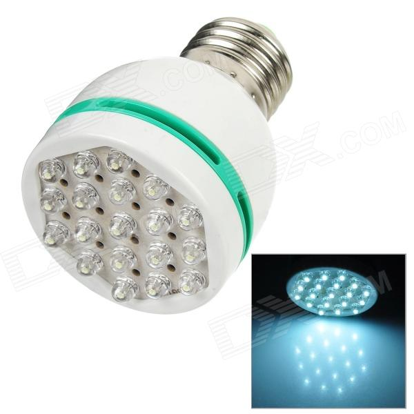 E27 1W 19-LED Energy Saving Light Bulb (100~260V AC)