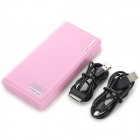 "IKKI External Portable ""20000mAh"" Power Bank for Samsung Galaxy Note 10.1 N8000 / N5100 - Pink"