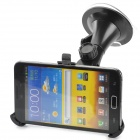 3-in-1 Car Mount w/ Back Clip + Car Charger + Data Charging Cable for Samsung Galaxy Note 2 N7100