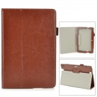 Protective Flip-Open PU Case w/ Stand + Auto Sleep for Amazon Kindle Fire HDX8.9 - Brown