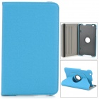 "Protective PU Leather Case w/ Holder + 360' Rotating Back for 8.3"" LG V500 G Pad - Blue"