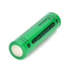 GTL Rechargeable 18650 Li-ion 3.7V 1250mAh Batteries Set - Green + Black (4 PCS)