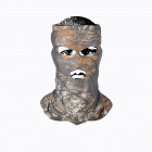 JUNGLE MAN H107 Outdoor Hunting Fishing CS Tactical Hood - White + Light Camouflage Grey