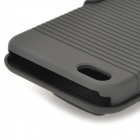 Protective Hard Plastic Case w/ Clamp for IPHONE 5 - Black