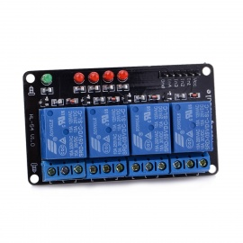 Navo 4-Channel Relay Module - Black + Blue