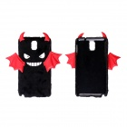 CM007 Small Monster Pattern Protective PC Back Case for Samsung Galaxy Note 3 N9000 - Black