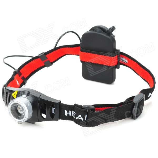 Flood-to-Throw Zooming Focusable Cree Q3-WC 130-Lumen LED Headlamp (3*AAA)