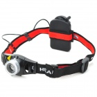 Flood-to-Throw Zooming Focusable 130-Lumen LED Headlamp w/ Cree Q3-WC (3*AAA)