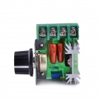 Navo 2000W Import Silicon Controlled Electronic Voltage Regulator - Green + Silver