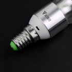 WaLangTing E14 5W 450lm 10 x SMD 5730 LED Cold White Light Candle Lamp