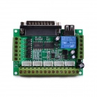 Navo MACH3  5 axis CNC Stepper Motor Driver Interface Board w/ USB Cable - Green + Silver