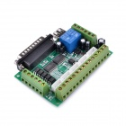 Navo MACH3 5 axes CNC Stepper Motor Driver Interface Board w / USB Cable - Vert + Argent