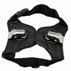 Camera Belt Holster Waist Double Belt Mount Button Buckle Hanger for Canon Nikon DSLR - Black