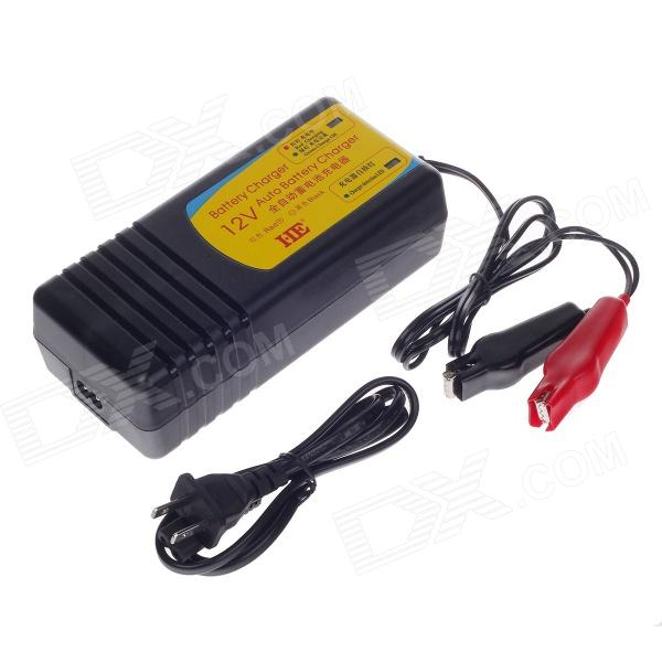 HB-130805 13.8V 5A US Plug Charger for Lead-Acid Battery - Black (AC 100~240V) 220v to dc 24v battery charger for lead acid battery